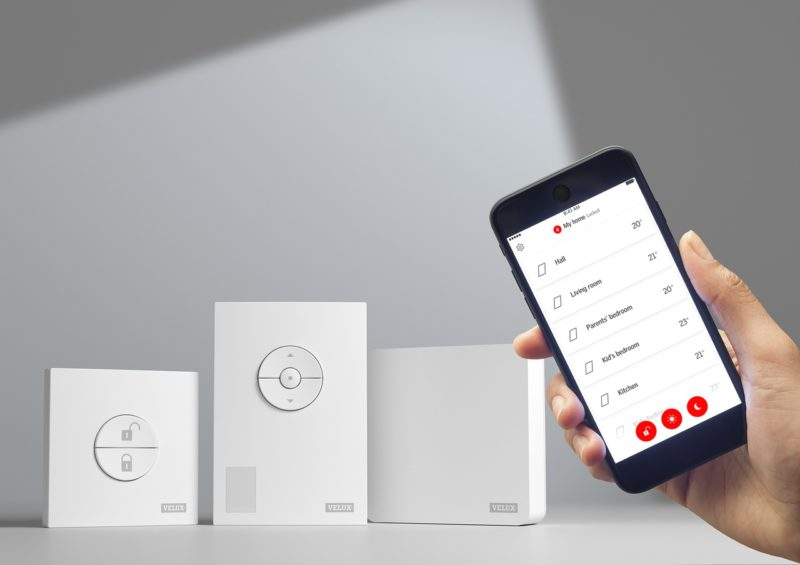 VELUX ACTIVE Inteligentny, oparty na czujnikach system sterowania produktami VELUX (zestaw startowy) (KIX 300 EU)