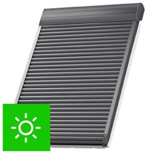 Roleta zewnętrzna ARZ Solar Fakro sterowanie solarne